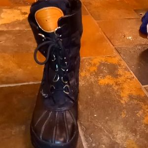 coach water proof winter boots
